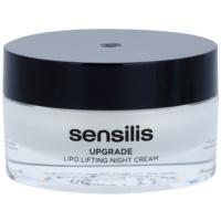 crema de noche con efecto lifting para la definición del contorno facial