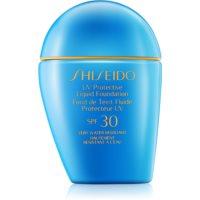 Shiseido Sun Foundation wasserfestes Flüssig-Make up SPF30
