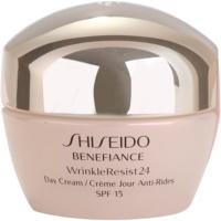 Shiseido Benefiance WrinkleResist24 przeciwzmarszczkowy krem na dzień SPF 15