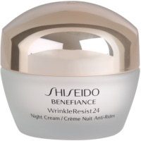 Shiseido Benefiance WrinkleResist24 nawilżający krem na noc przeciw zmarszczkom