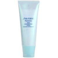 Shiseido Pureness crème-mousse nettoyante en profondeur aux micro-granules