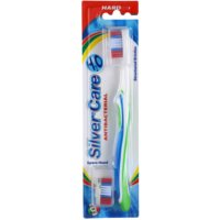 Antibacterial Toothbrush with Spare Head Hard
