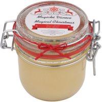 salzhaltiges Bodypeeling auf Basis organischer Salze und Butter
