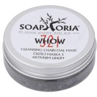 Soaphoria Organic  čistiaca maska s aktívnym uhlím v prášku