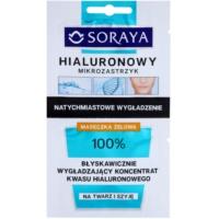 intensive Liftingmaske mit Hyaluronsäure