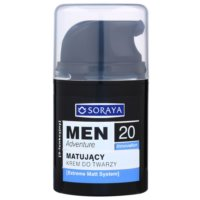 Soraya MEN Adventure 20+ Mattifying Moisturiser For Men