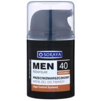 Soraya MEN Adventure 40+ gel-crème anti-rides pour homme