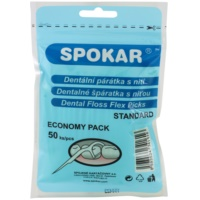 Spokar Dental Care scobitori dentare cu filet