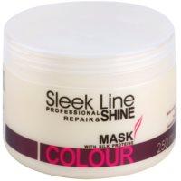 vlažilna maska za barvane lase