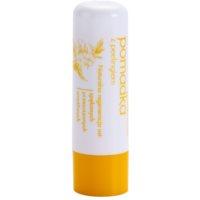 balsam de buze cu efect exfoliant