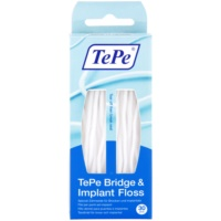 TePe Bridge & Implant Floss fio dental especial para limpeza de implantes