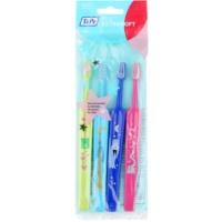 TePe Kids cepillo de dientes para niños extra suave 4 uds