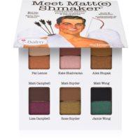 theBalm Meet Matte(e) Shmaker paleta očných tieňov