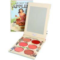 theBalm How 'Bout Them Apples? palete de blushes e batons cremosos