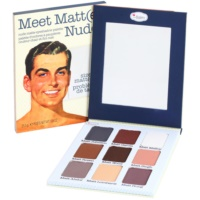 theBalm Meet Matt(e) Nude палитра от сенки за очи