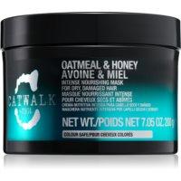 TIGI Catwalk Oatmeal & Honey Intensief Voedende Masker  voor Droog en Beschadigd Haar
