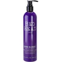 fialový tónovací šampon pro blond vlasy