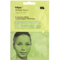 почистване и ревитализиране на кожата на лицето в две стъпки