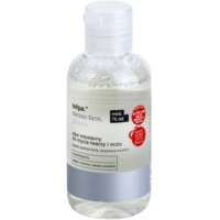 Micellar Cleansing Water On The Face And Eyes