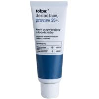 лек дневен крем за подмладяване на кожата на лицето