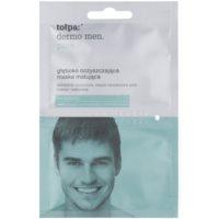Tołpa Dermo Men Pure globinsko čistilna maska za mat videz kože