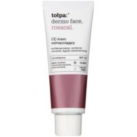 creme CC para peles com tendência à vermelhidão SPF 10