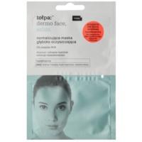 mascarilla normalizante para una limpieza profunda para pieles con imperfecciones
