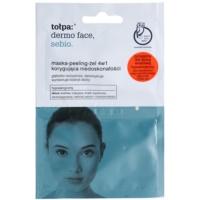 maszk-peeling-gél 4 az 1-ben a bőrhibákra