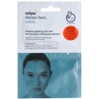4in1 Gel Mask and Scrub For Skin With Imperfections
