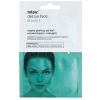 maszk-peeling-gél 4 az 1-ben az aknéra hajlamos zsíros bőrre