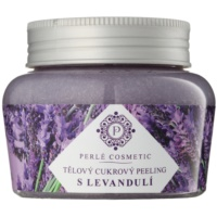 Zucker-Peeling mit Lavendel