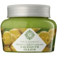 cukrový peeling s olivovým olejom