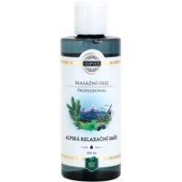 relaxačný masážny olej