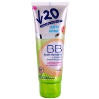 creme matificante BB com efeito antibacteriano SPF 10