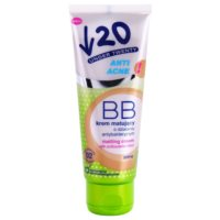 Under Twenty ANTI! ACNE crema BB antibacteriana matificante SPF 10