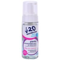 espuma de limpeza com ação antibacteriana