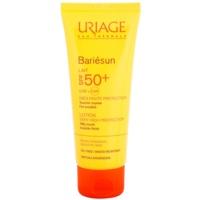 loción protectora para rostro y cuepro de textura extra suave SPF 50+
