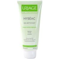 Uriage Hyséac gel de limpeza para pele mista e oleosa