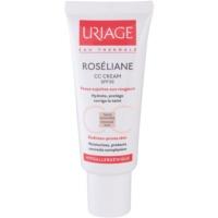 CC Creme für empfindliche Haut mit der Neigung zum Erröten