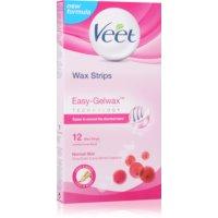 Veet Wax Strips szőrtelenítő gyantacsík shea vajjal és bogyós aromákkal