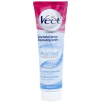 depilačný krém na nohy pre citlivú pokožku