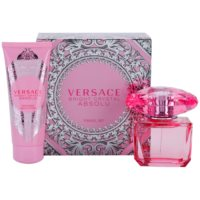 Versace Bright Crystal Absolu Geschenkset III. Eau de Parfum 90 ml + Körperlotion 100 ml