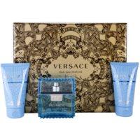 Versace Eau Fraiche Man lote de regalo IV. eau de toilette 50 ml + gel de ducha 50 ml + bálsamo after shave 50 ml