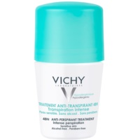 Vichy Deodorant Antiperspirant Roll-On To Treat Excessive Sweating