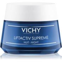 Vichy Liftactiv Supreme éjszakai feszesítő és ránctalanító krém lifting hatással