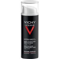 Vichy Homme Hydra-Mag C hydratačná starostlivosť proti známkam únavy na pleť a očné okolie
