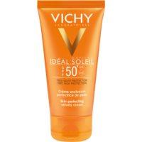 Vichy Idéal Soleil Capital védő krém a bársonyos bőrért SPF 50+
