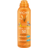 gyengéd védő homoktaszító spray gyerekeknek SPF 50+