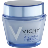 Vichy Aqualia Thermal Rich Nourishing Moisturizing Day Cream For Dry To Very Dry Skin