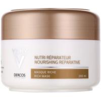 Vichy Dercos Nutri Reparateur Maske mit ernährender Wirkung für trockenes und beschädigtes Haar